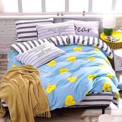 Полуторное постельное белье бязь 100%хлопок
