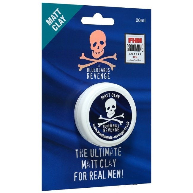 Глина для укладки волос - The Bluebeards Revenge Matt Clay 20ml