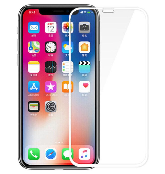 Full Glue защитное стекло для Apple iPhone XR / iPhone 11 - White
