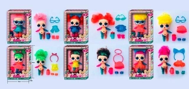 Кукла LOL Surprise ЛОЛ с волосами 90101 В