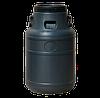 Бочка (бидон) для технических жидкостей 40л черная, ф-240 мм, 327х540 мм