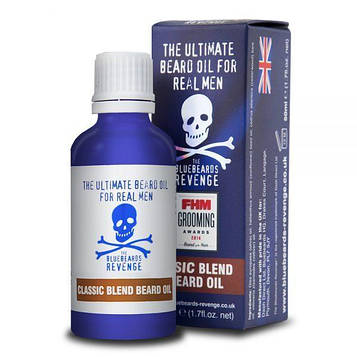 Масло для бороды Bluebeards Revenge Classic Blend Beard Oil 50ml