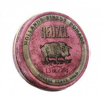Воск Reuzel Heavy Hold Pink 35ml