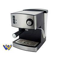 🆗 Кофемашина (850 Вт) GRUNHELM GEC15, Эспрессо, 15 бар (кофеварка Грюнхелм)