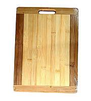 Доска разделочная бамбук 400х290х20см