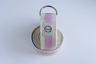 Ремень полукольца Foyo Two belt P Бело-розовый