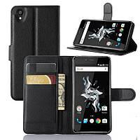 Чехол-книжка Litchie Wallet для OnePlus X Черный