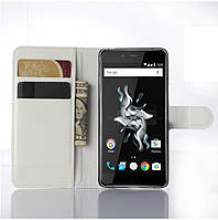 Чехол-книжка Litchie Wallet для OnePlus X Белый