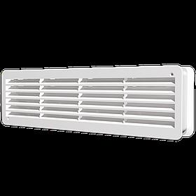 Решетка вентиляционная Эра для дверей 450 х 130 мм 2 шт (60-072)