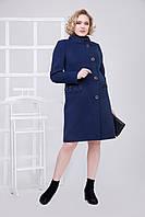 Пальто 2-492IT Темно-синий