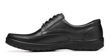 Мужские туфли кожаные черные BASTION 003ч