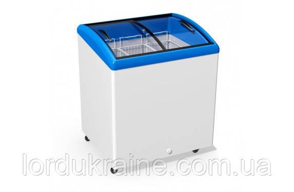 Морозильный ларь с гнутым стеклом Juka M200 S