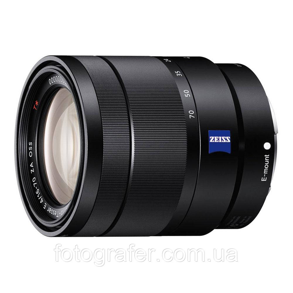 Об'єктив Sony Vario-Tessar T* E 16-70mm f/4 ZA OSS SEL1670Z Гарантія виробника ( на складі )