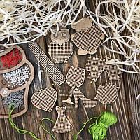 Набор для вышивания по дереву FLSW-001