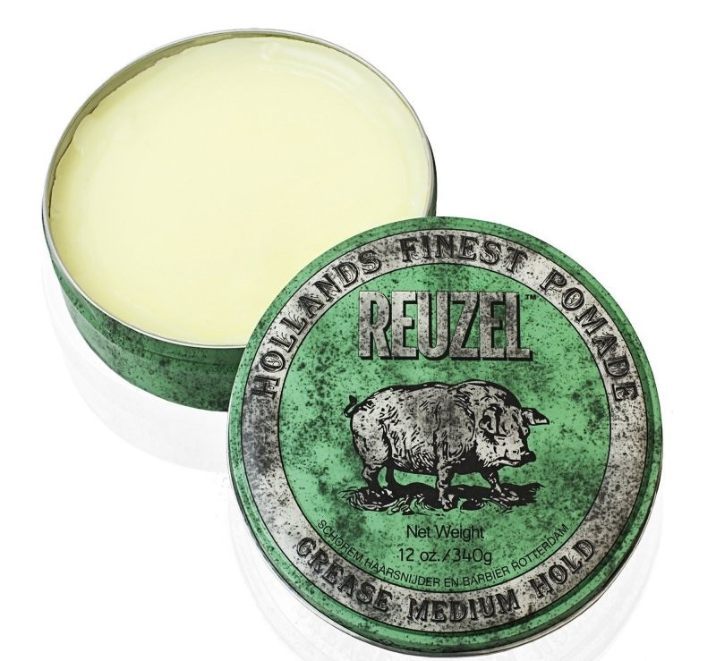 Воск для волос REUZEL Green  Grease Medium Hold  113мл