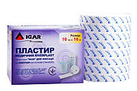Пластыри медицинские RiverPlast ТМ «IGAR» для фиксации тип Лайтпор (на основе спанлейс), 10см*10м