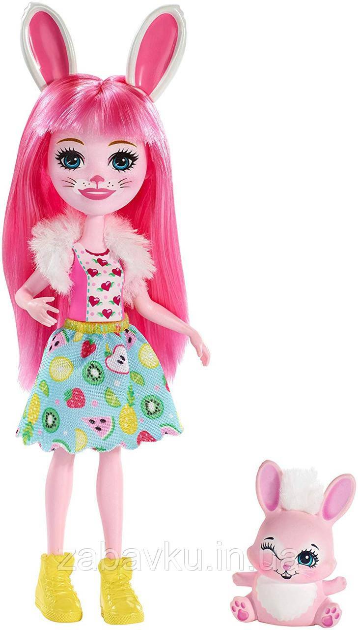 Enchantimals Bree Bunny Doll Зайченя Брі енчантімалс нова серія