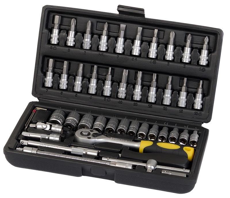 Набор ручных инструментов 46 шт Сталь