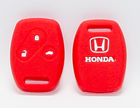 Силиконовый чехол на две кнопки Honda, фото 1