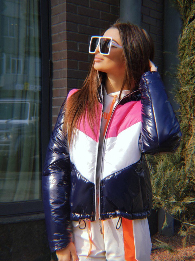 женская двухсторонняя куртка опт