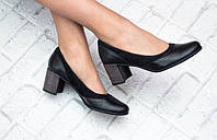 Классические туфли на красивом каблуке, фото 1