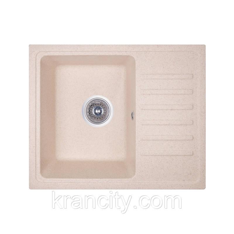Кухонная мойка гранитная Fosto Мойка 55x46 SGA-800 (персик)
