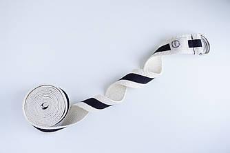 Ремень полукольца Foyo Two belt В Бело-черный
