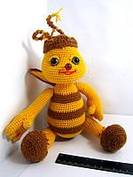 Вязаные игрушки . Пчела.Ручная работа