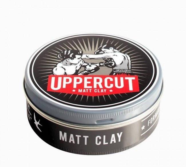 Глина для волос Uppercut Deluxe Matt Clay  60гр