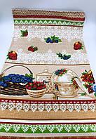 Рушник льняной пасхальный «Праздничный стол» 45х75 см - в наборе 3шт