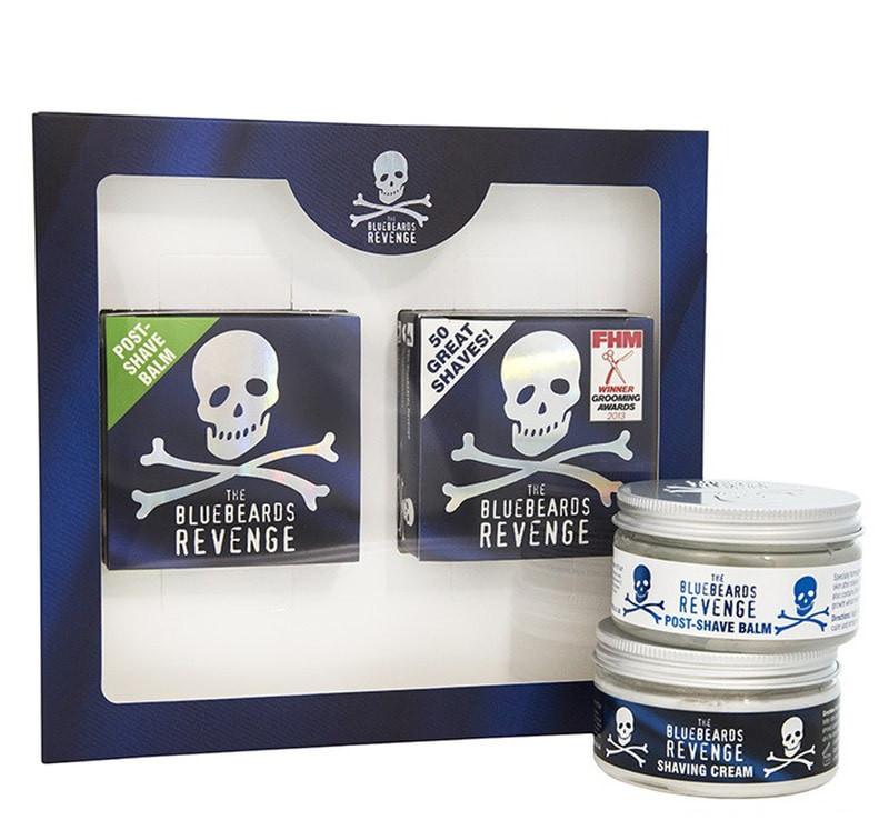 Подарунковий набір The Bluebeards Revenge Shaving Cream & Post-Shave Balm Kit