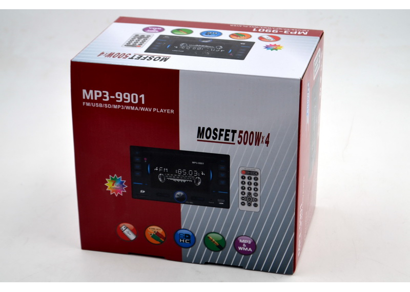 Автомагнитола двухдиновый MP3 MOD-9901