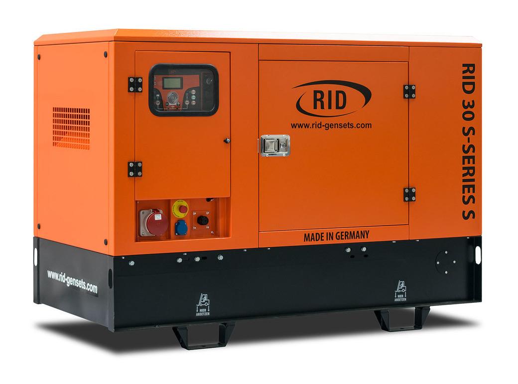Дизельный генератор RID 30 S-SERIES S (24 кВт)