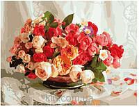 Цветы, букеты, натюрморт картины по номерам