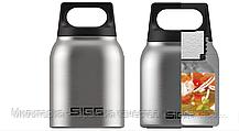Термос для еды  SIGG Hot & Cold Jar Brushed 0.5 л (8618.20) стальной, фото 2