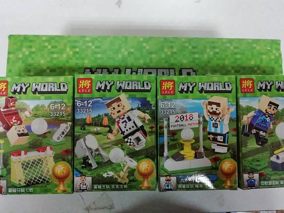 """Конструктор """"Minecraft 8 в 1"""" 40 деталей, фото 2"""
