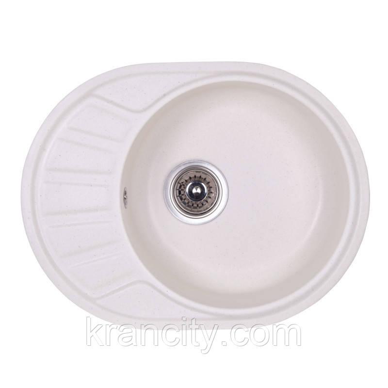Гранитная мойка для кухни Fosto Мойка 58x45 SGA-203 (метель)