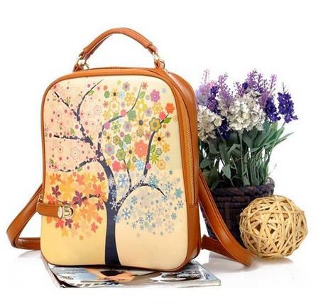 Модные рюкзаки с принтами, фото 2