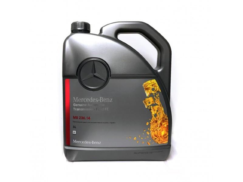 Масло трансмиссионное Mercedes-Benz ATF 236.14 5л (000989680513)