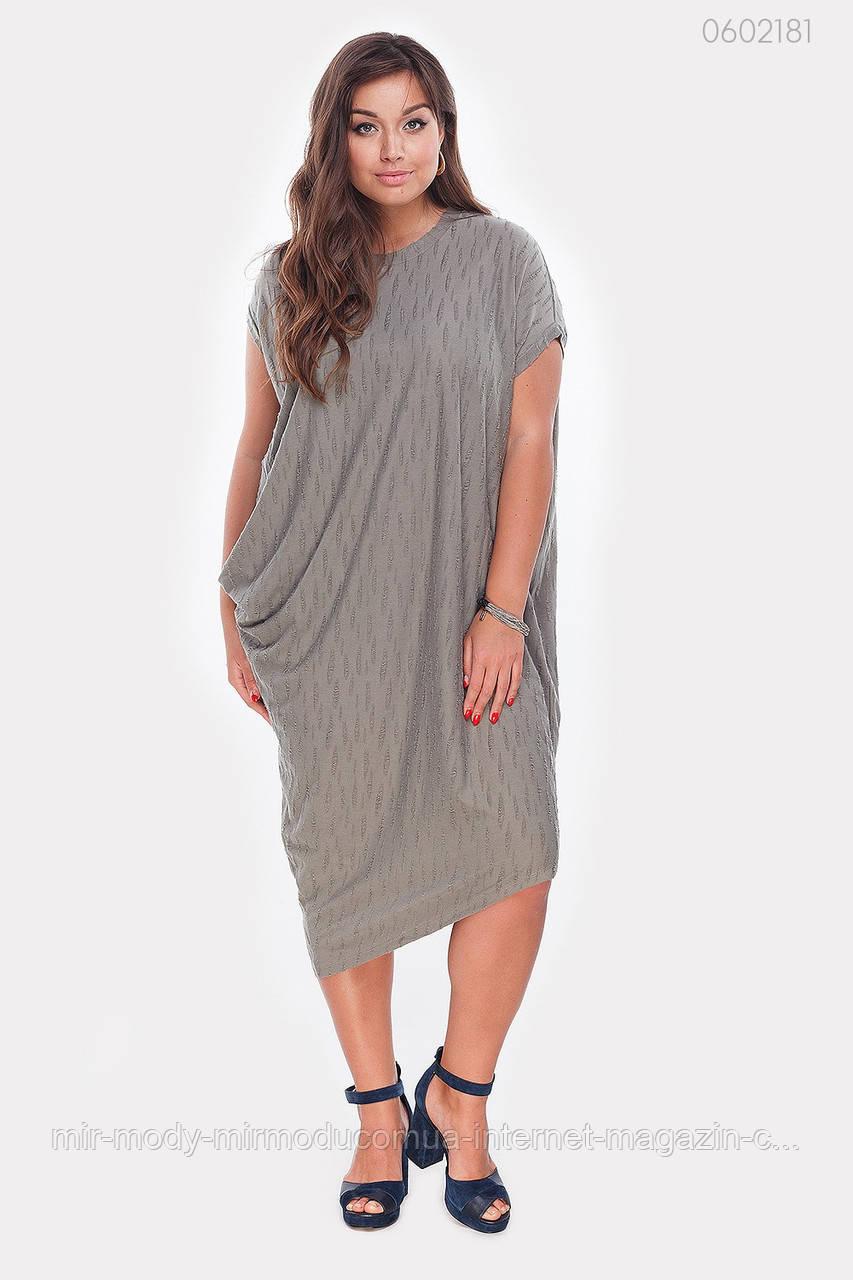 Платье Маравила-1 (оливковый) с  50 по 56 размер (рин)