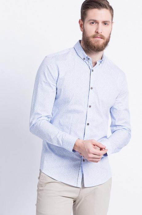 Сорочка чоловіча блакитна візерункова Medicine L