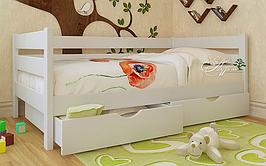 Кровать десткая подростковая AUREL Амели с 2 ящиками (спальное место ШхГ - 800х1900)