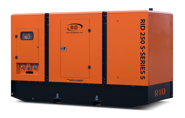 Дизельный генератор RID 250 S-SERIES S (200 кВт)