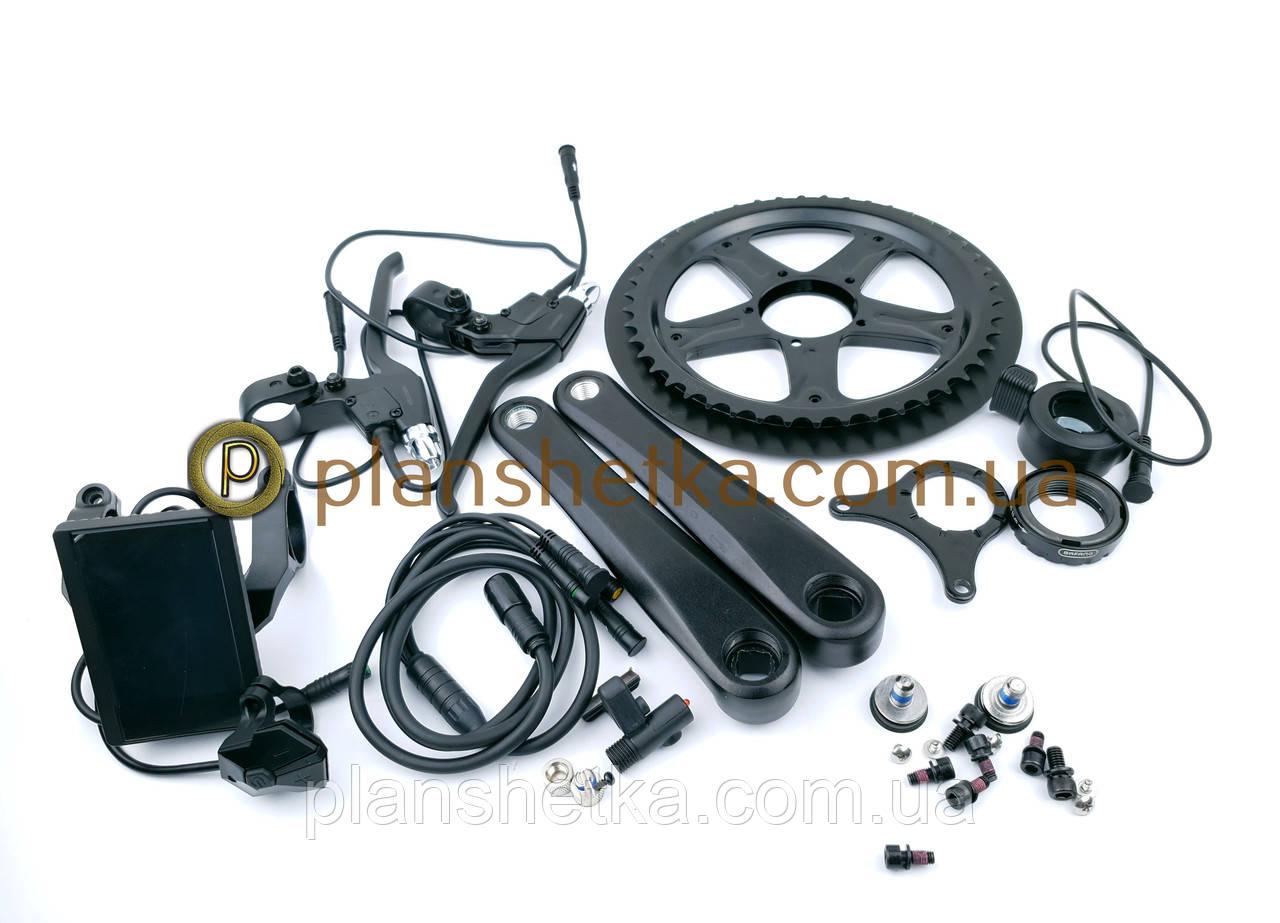 Электромотор Bafang BBS02 48V 750W дисплей C 790 электрический комплект для велосипедов