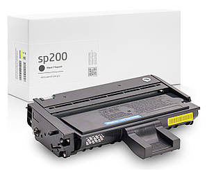 Картридж Ricoh SP 200 (SP200) совместимый, чёрный, увеличенный ресурс (2.600 копий) аналог от Gravitone