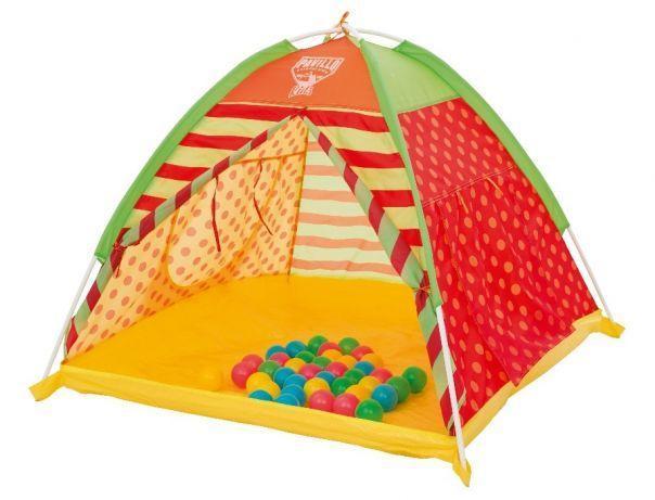 Детская игровая палатка + 40 разноцветных шариков
