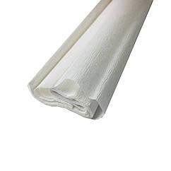 Гофрированная (креп) бумага для творчества, белая