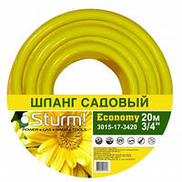 """Шланг садовый 5/8"""" 30 м Economy желтый Sturm (3015-17-5830)"""