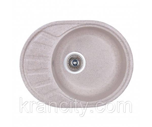 Кухонная мойка грантная Fosto Мойка 58x45 SGA-300 (песок)