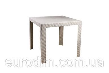 Стол OW-T209S квадратный   белый